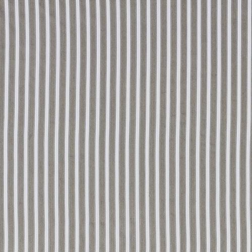 Schumacher Antique Ticking Stripe Chanterelle Fabric - Fabric