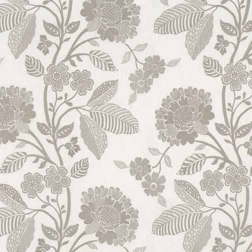 Schumacher Elspeth Dove Fabric - Fabric