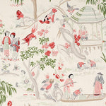 Schumacher Yangtze River Ivory Fabric