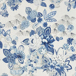 Schumacher Bouquet Chinois Porcelain Fabric