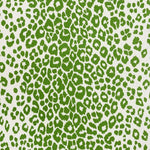 Schumacher Iconic Leopard Indoor/Outdoor Green Fabric