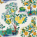 Schumacher CITRUS GARDEN INDOOR/OUTDOOR PRIMARY Fabric