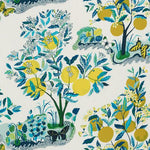 Schumacher Citrus Garden Indoor/Outdoor Pool Fabric