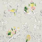 Schumacher CHINOISERIE MODERNE SOFT GREY Fabric