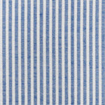 Schumacher Easton Stripe Navy Fabric