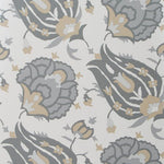 Groundworks Turkish Flower Dove/Stone Wallpaper