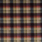 Mulberry Velvet Ancient Tartan Red/Blue/Green Fabric