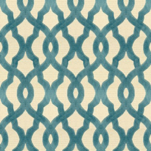 Kravet Layered Luxury Azure Fabric - Fabric