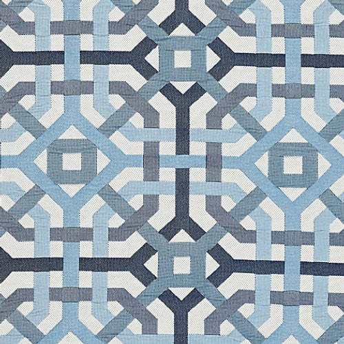 Scalamandre Amazed Denim Fabric - Fabric