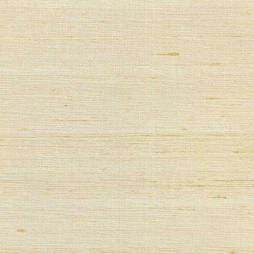 Scalamandre Callisto Silk Weave Straw Wallpaper - Wallpaper