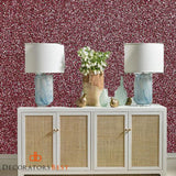 Scalamandre Pearl Mica Rose Quartz Wallpaper