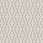 Fabricut Sev Lattice Coral Fabric