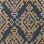 Groundworks Navajo Indigo Wallpaper