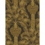 Cole & Son Hollywood Palm Charcoal & Gold Wallpaper