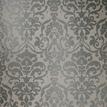 Fabricut Totti Damask Charcoal Fabric