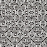 Schumacher Amazing Maze Kohl Fabric