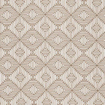 Schumacher Amazing Maze Sand Fabric