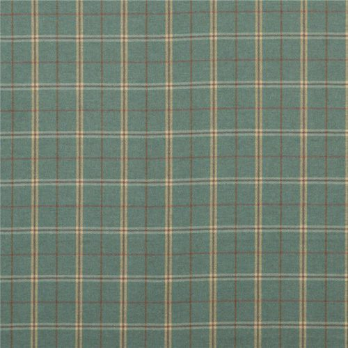 Mulberry Islay Teal Fabric - Fabric