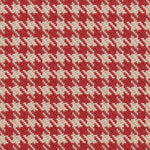 Kasmir Watson Check Vintage Red Fabric