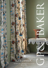 G P & J Baker Carisbrooke Green/Turquoise Fabric