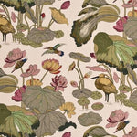 Lee Jofa Nympheus Print Cream Fabric