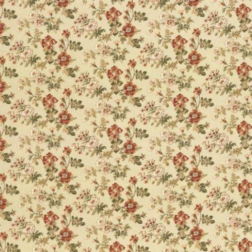 Kasmir Willow House Vintage Gold Fabric - Fabric
