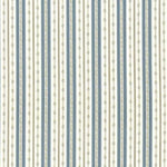 Kasmir Willow Stripe Blue Fabric