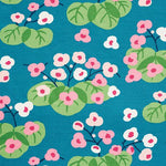 Schumacher Saku Peacock Fabric