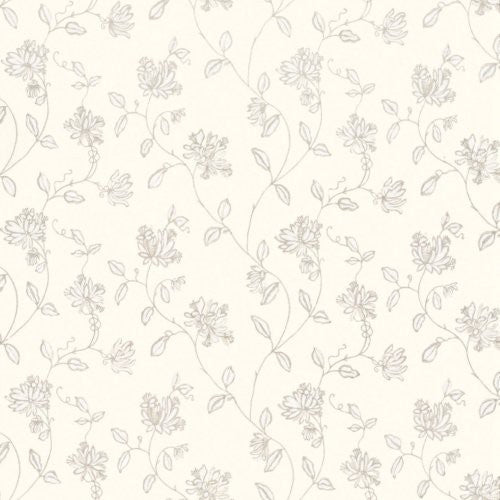 G P & J Baker Honeysuckle Ivory Fabric - Fabric