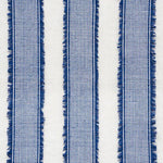 Schumacher Tulum Blue Fabric