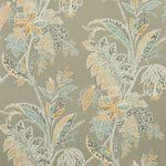 Baker Lifestyle Ishana Sienna/Grey Wallpaper