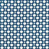 Schumacher Betwixt Indigo/Ivory Fabric