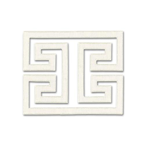 Schumacher Madame Wu  Applique Swan Trim - Trim