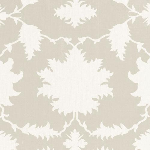 Schumacher Garden Of Persia Dove Fabric - Fabric
