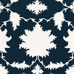 Schumacher Garden Of Persia Bleu Marine Fabric
