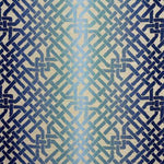 Groundworks Ombre Maze Teal Fabric