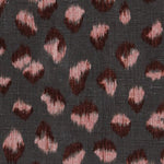 Groundworks Feline Graphite/Rose Fabric