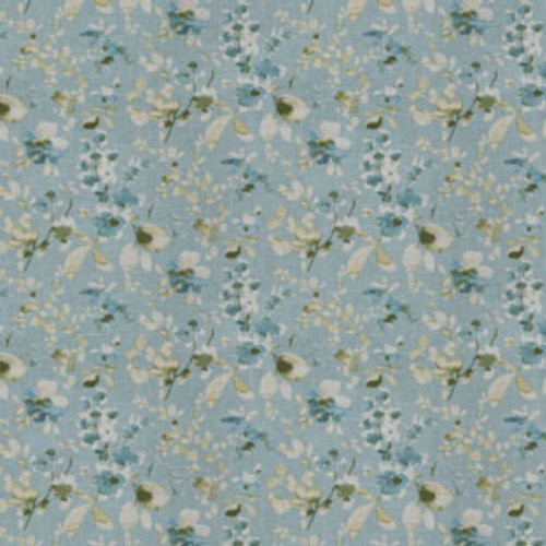 Trend 03367 Turquoise Cloud Fabric - Fabric