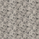 Fabricut Aviary Toile Coal Fabric