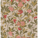 Cole & Son Strawberry Tree Pink & Linen Wallpaper