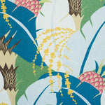 Schumacher Ananas Peacock Fabric