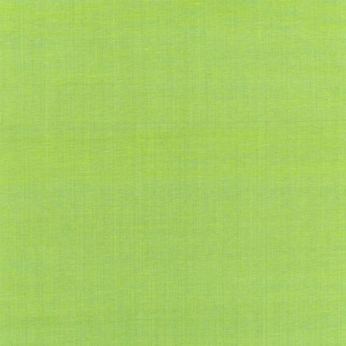 Schumacher Beckford Cotton Plain Kiwi Fabric - Fabric