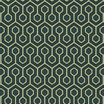 Kravet Hexagonal House Blue Opal Fabric