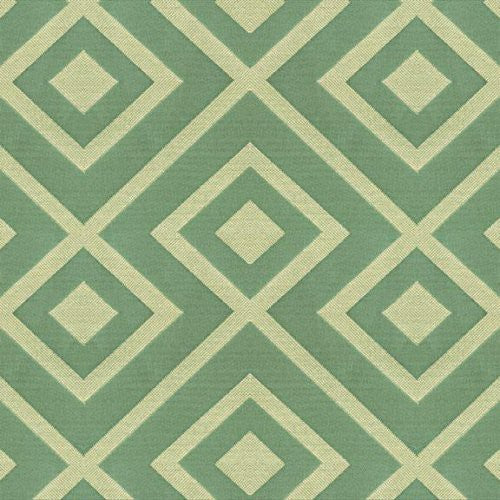 Kravet Rory'S Trellis Sea Green Fabric - Fabric