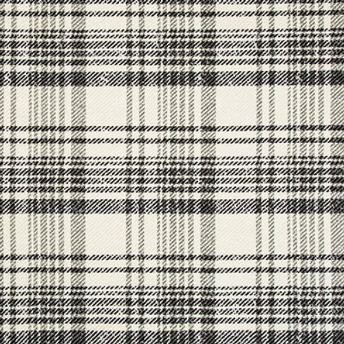 Kravet London Calling Ivory/Noir Fabric - Fabric