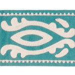 Stroheim Guadeloupe Turquoise Trim