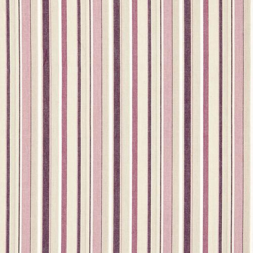 Schumacher Tybee Stripe Mulberry Fabric - Fabric