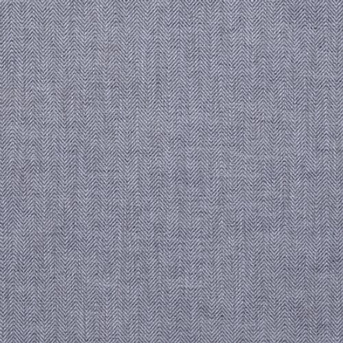 Phillip Jeffries Herringbone Ii Longford Blue Wallpaper - Wallpaper