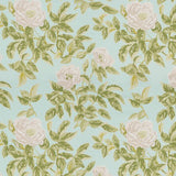 Schumacher Manor Rose Breeze Fabric