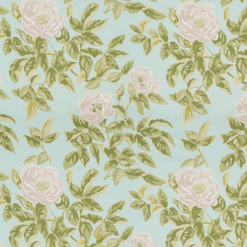Schumacher Manor Rose Breeze Fabric - Fabric